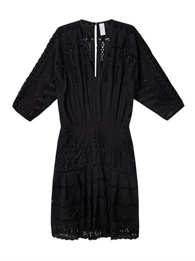 Zimmermann Allure broderie anglaise kaftan dress