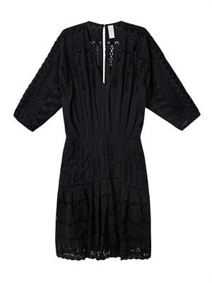 Allure broderie anglaise kaftan dress