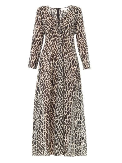 Zimmermann Scout Ikat-print dress
