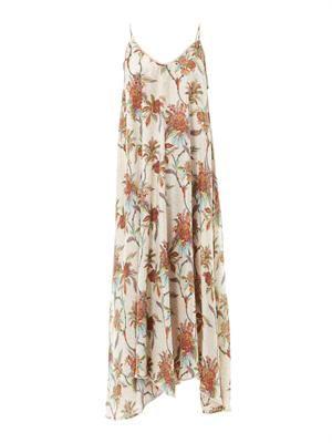 Keeper floral print maxi dress