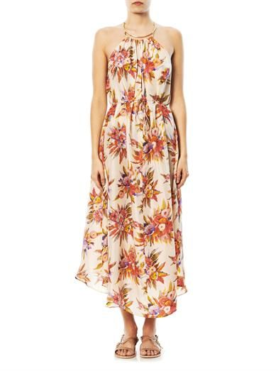 Zimmermann Instinct choker maxi dress