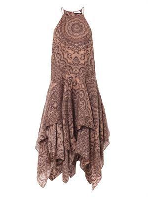 Writer scarf dress