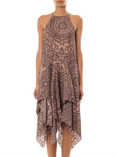 Zimmermann Writer scarf dress