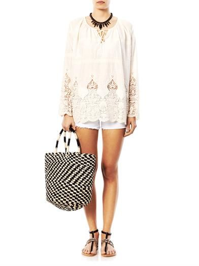 Zimmermann Keeper embroidered cover-up