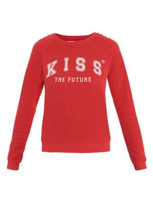 Kiss the future sweater