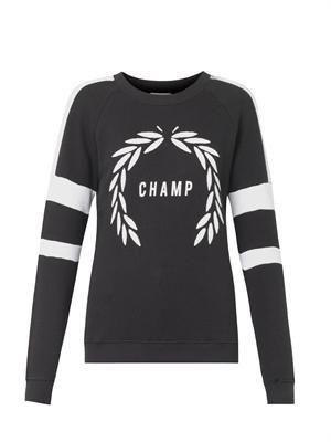 Champ-print sweatshirt