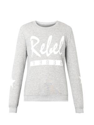 Rebel-print sweatshirt