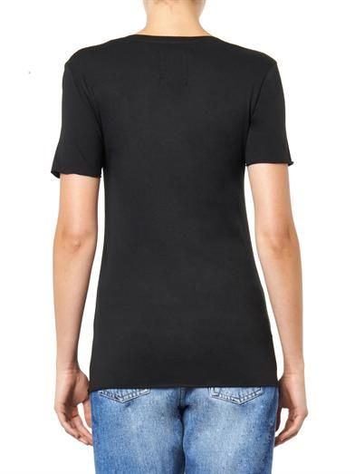 Zoe Karssen Rebel-print T-shirt