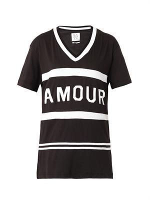 Amour-print T-shirt
