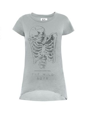 Wild Boys skeleton T-shirt