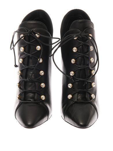 Giuseppe Zanotti Lea lace-up ankle boots
