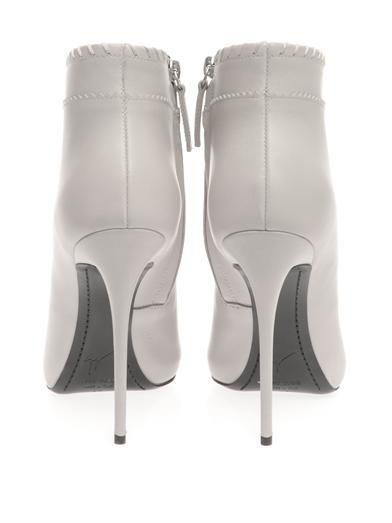 Giuseppe Zanotti Tassel-detail leather ankle boots