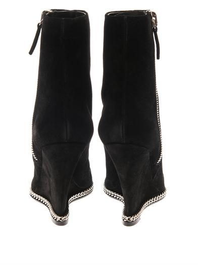 Giuseppe Zanotti Suede wedge ankle boots
