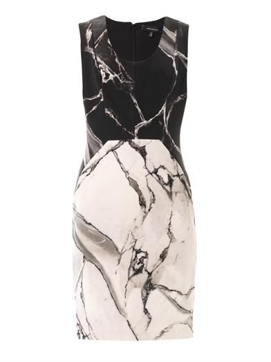 Robert Rodriguez Carrara-print silk dress