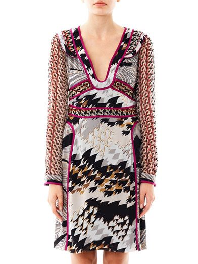 Diane Von Furstenberg Poesie dress