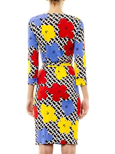 Diane Von Furstenberg Pop Wrap Limited Edition New Julian Two dress