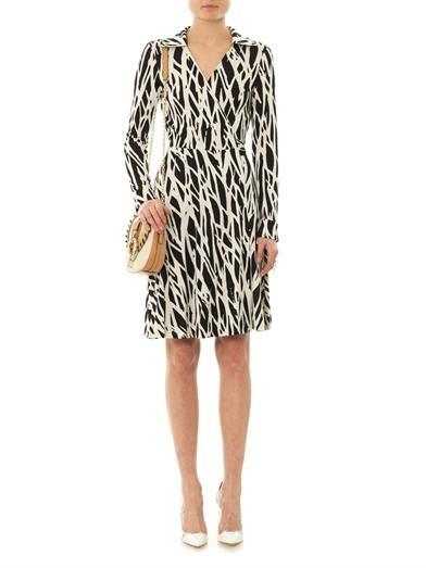 Diane Von Furstenberg Pop Wrap Limited Edition T72 dress