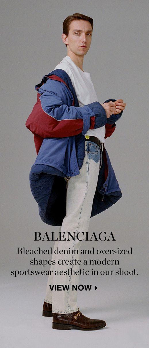 6fc9d5947d6fb Balenciaga Menswear Online Shop