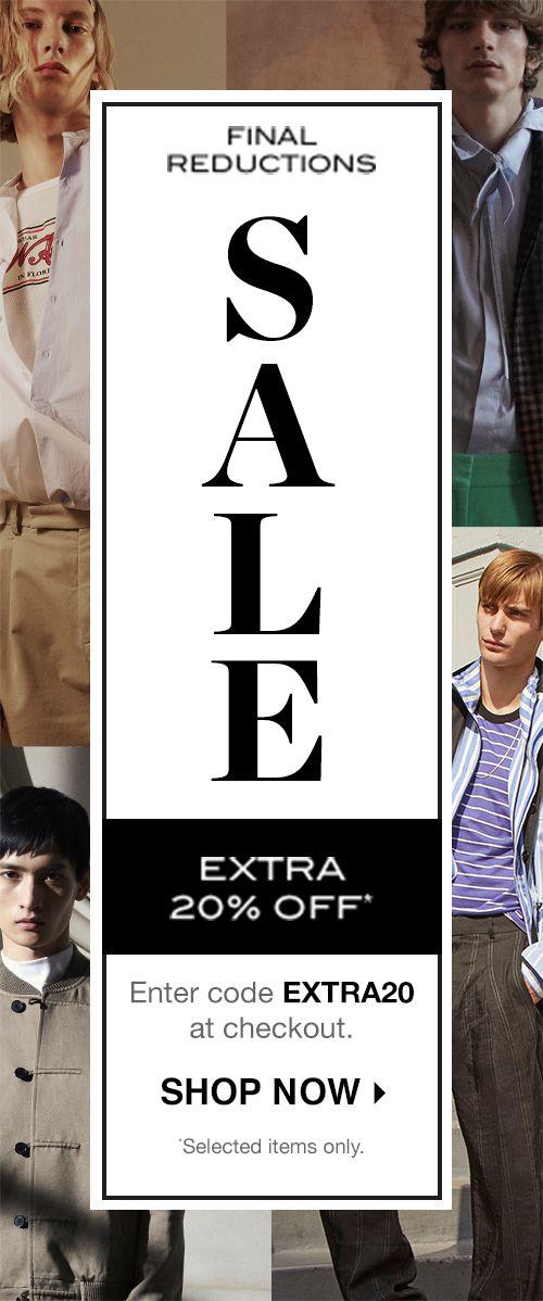 a6c519aecac Men s Designer Sale AW18