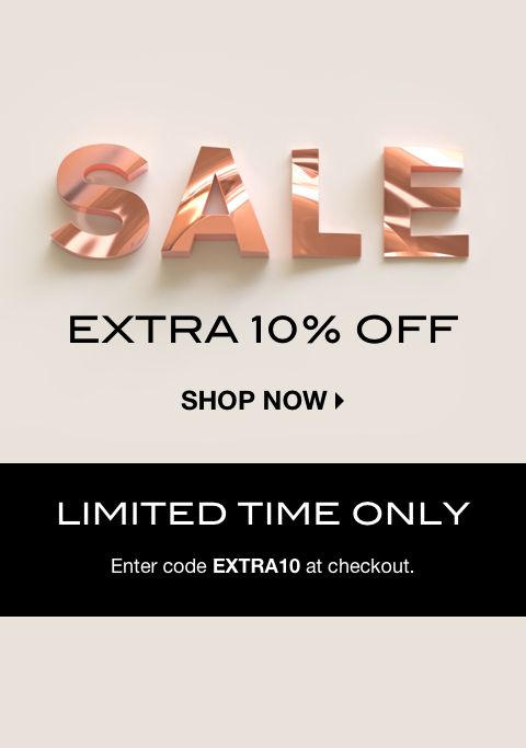 AW19 SALE: EXTRA 10% OFF
