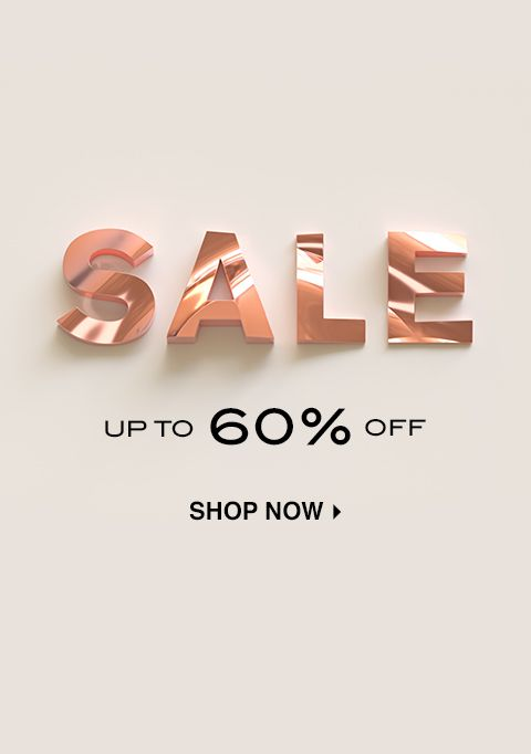 FW19 SALE: UP TO 60% OFF