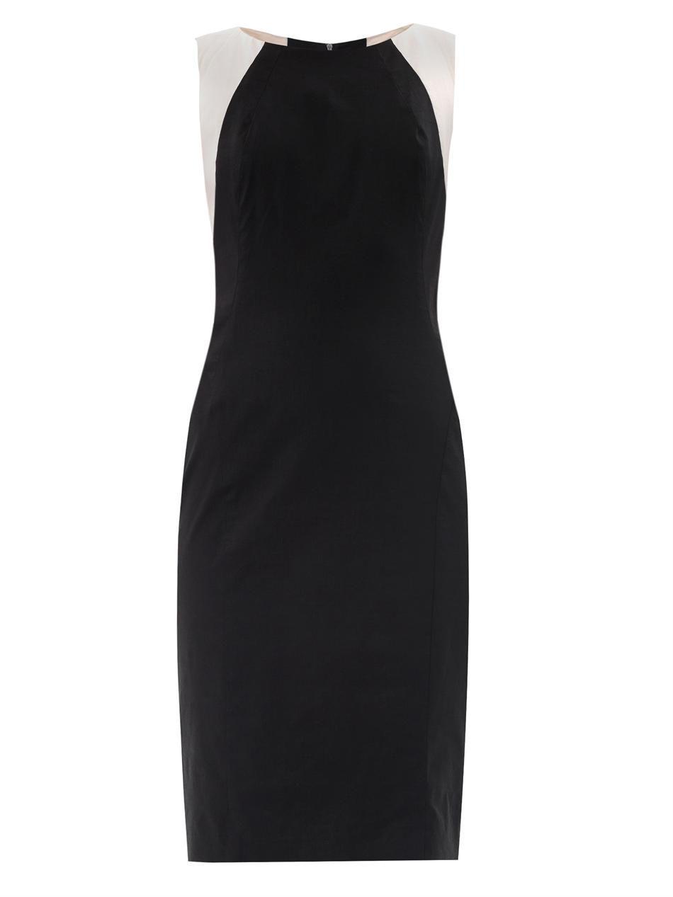 Colour block sheath dress  Dkny